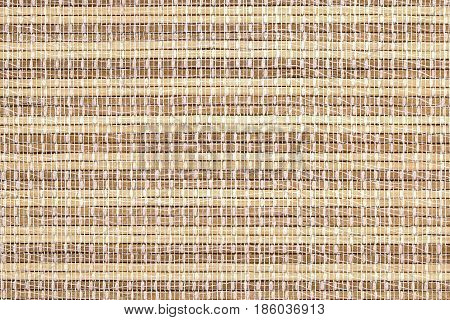 Texture of native thai style weave sedge mat background