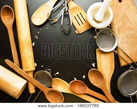 Kitchen Utensil Background