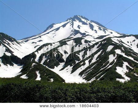 Berg im Schnee