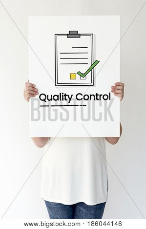 Quality control assurance product guarantee