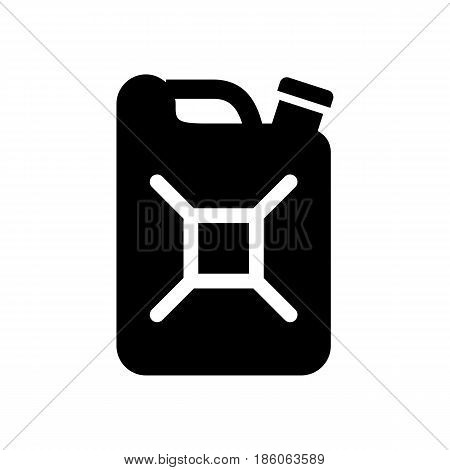 canister, icon isolated on white background flat style.