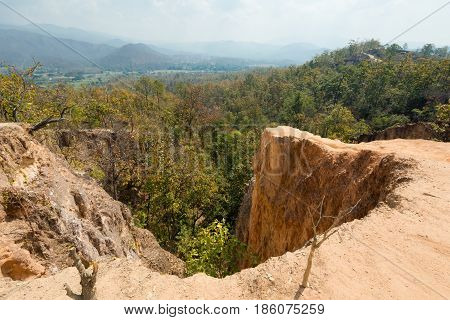 Pai Canyon In North Thailand