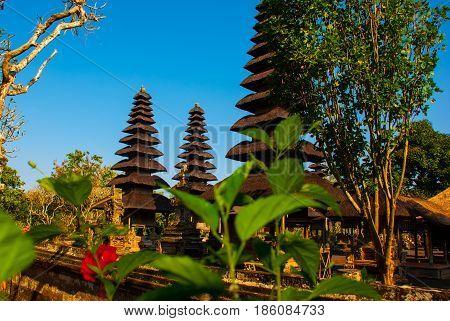 Pura Taman Ayun Temple In Bali, Indonesia.