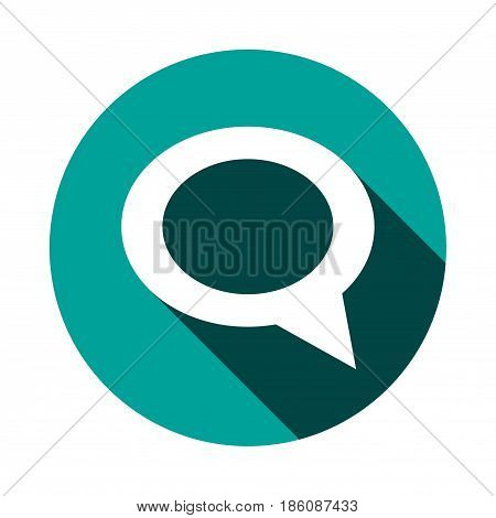 comment icon stock vector illustration flat design