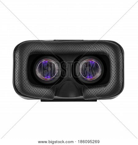 Vr Headset Isolated On White Background. Virtual Reality Headset. Video Game Glasses. Vr Glasses