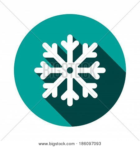 scresnowflake icon stock vector illustration flat design
