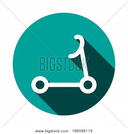 scooter icon stock vector illustration flat design