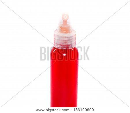 Red Water In Bottle