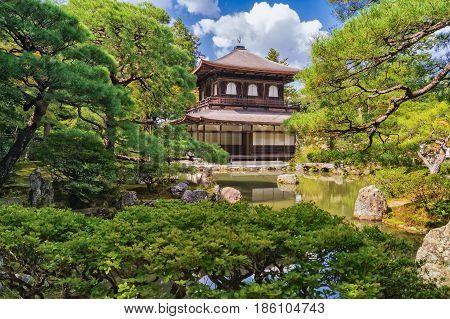 Ginkakuji Silver Pavilion - Zen Temple Along Kyoto's Eastern Mountains