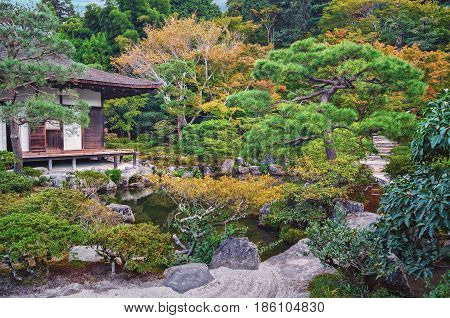 Togudo Hall At Ginkakuji Silver Pavilion - Zen Temple Along Kyoto's Eastern Mountains