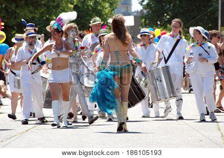 JUNE 25, 2006. SEATTLE, WA. CIRCA:  Gay, lesbian pride day celebration in Seattle, Wa.