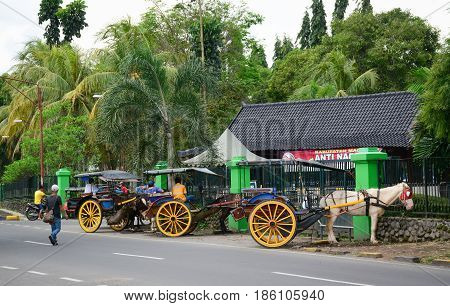 Street In Yogyakarta, Indonesia