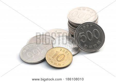Korean Coins Won