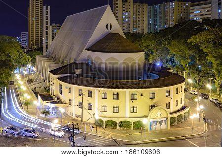 Church On Downtown Of Londrina