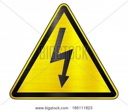 danger electricity voltage high sign  warning  illustration