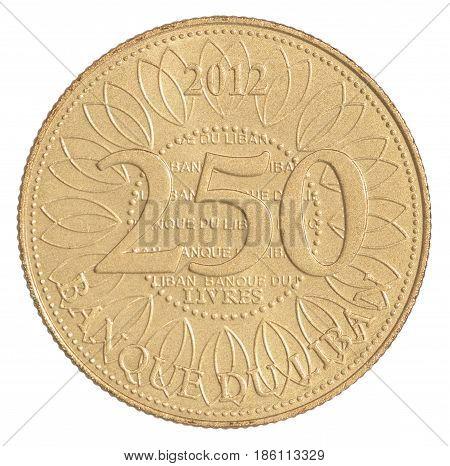 Lebanese Livres Coin
