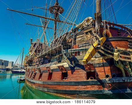 Porto Antico In Genoa, Italy