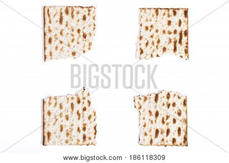 Brocken Square Matzah