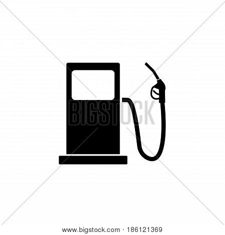 Gas station solid icon, fuel and refill sign, vector graphics, a filled pattern on a white background, eps 10.