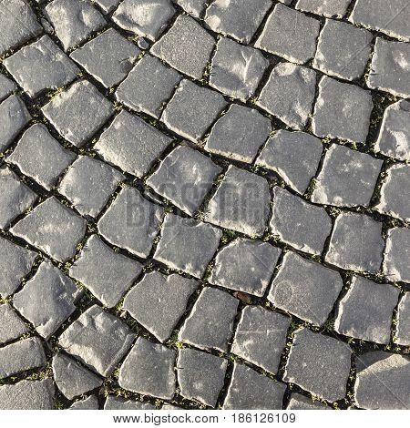 Background Of Harmonic Cobble Stones