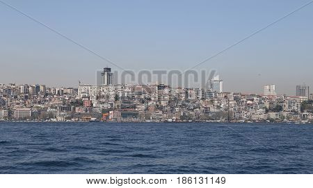 Besiktas District In Istanbul City