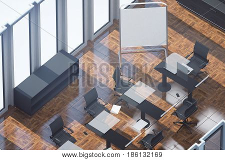 Wooden Conference Room Top
