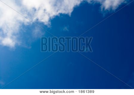 Beautiful Clouds On The Blue Sky