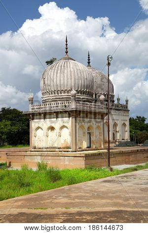 Historic Qutbshahi tombs in Hyderabad ,India