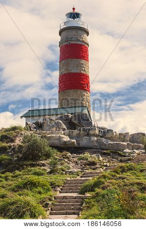 Cape Moreton Lighthouse On The North Part Of Moreton Island.