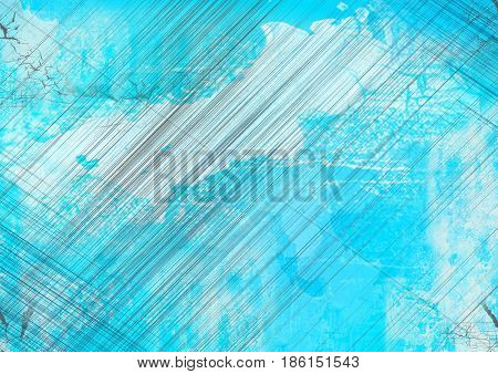 Abstract industrial background for design works blue color.