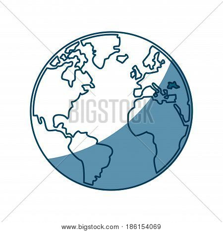 world map earth atlas cartography graphic vector illustration