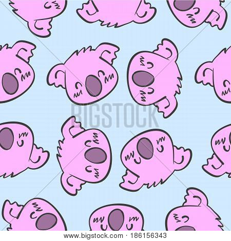 Collection stock of animal funny design vector illustration