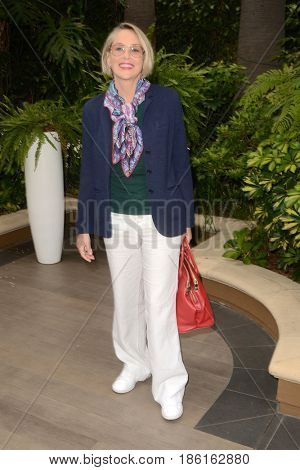 LOS ANGELES - MAY 10:  Sharon Stone at the ABC Mothers Day Luncheon on the Four Seasons Hotel on May 10, 2017 in Beverly Hills, CA