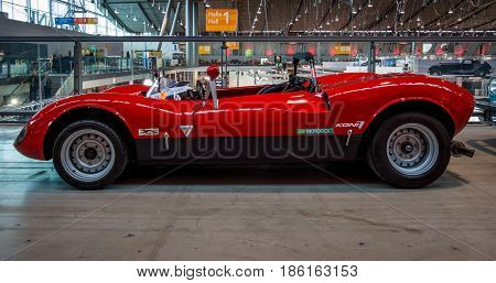 STUTTGART GERMANY - MARCH 02 2017: Sports car Sbarro ACA Spider 1966. Europe's greatest classic car exhibition