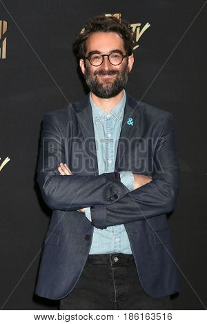 LOS ANGELES - MAY 7:  Jay Duplass at the MTV Movie and Television Awards on the Shrine Auditorium on May 7, 2017 in Los Angeles, CA