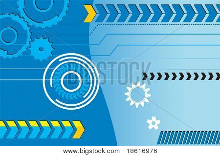 Industrial concept background