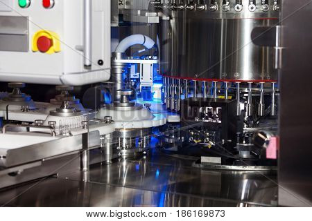 Automatic ampule filling machine, equipment in pharmaceutical industry