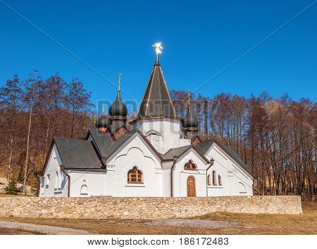 Chapel on the holy spring of John the Theologian in the Ryazan region