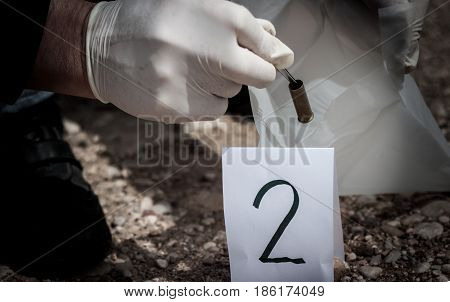 The Crime Scene, Murder, Investigation, Sleeves Shots Serve As Evidence, The Investigation Is Done,