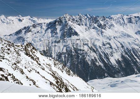 Venter Valley In Winter, Austria