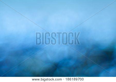 blue beautiful background bokeh. backdrop