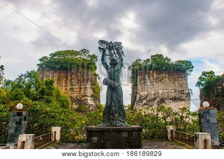 Garuda Wisnu Kencana Cultural Park. Bali. Indonesia.