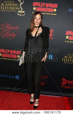 LOS ANGELES - APR 26:  Tamara Braun at the NATAS Daytime Emmy Nominees Reception at the Hollywood Museum on April 26, 2017 in Los Angeles, CA