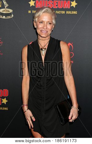 LOS ANGELES - APR 26:  Kelley Menighan Hensley at the NATAS Daytime Emmy Nominees Reception at the Hollywood Museum on April 26, 2017 in Los Angeles, CA
