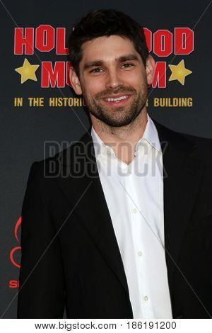 LOS ANGELES - APR 26:  Justin Gaston at the NATAS Daytime Emmy Nominees Reception at the Hollywood Museum on April 26, 2017 in Los Angeles, CA