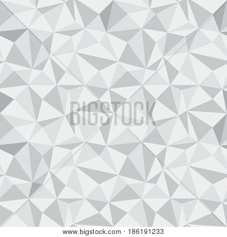 Seamless Geometric Vector Background Of Triangular Polygons Pattern 2.eps
