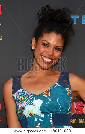 LOS ANGELES - APR 26:  Karla Mosley at the NATAS Daytime Emmy Nominees Reception at the Hollywood Museum on April 26, 2017 in Los Angeles, CA