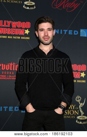 LOS ANGELES - APR 26:  Kristos Andrews at the NATAS Daytime Emmy Nominees Reception at the Hollywood Museum on April 26, 2017 in Los Angeles, CA