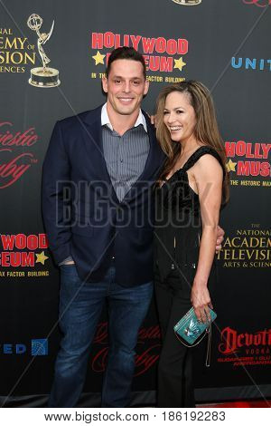 LOS ANGELES - APR 26:  Jessie Godderz, Terri Ivens at the NATAS Daytime Emmy Nominees Reception at the Hollywood Museum on April 26, 2017 in Los Angeles, CA