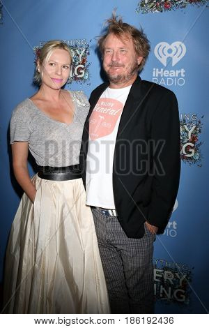 LOS ANGELES - MAY 6:  Wife, J Mills Goodloe at the